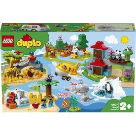 LEGO DUPLO Town 10907 Verdens dyr, 2+