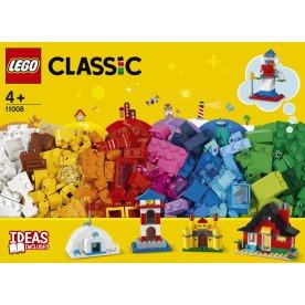 LEGO Classic 11008 Klodser og huse, 4+