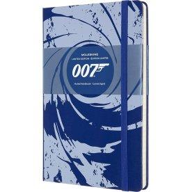 Moleskine Classic Notesbog | James Bond | Blå