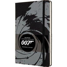Moleskine Classic Notesbog | James Bond | Sort
