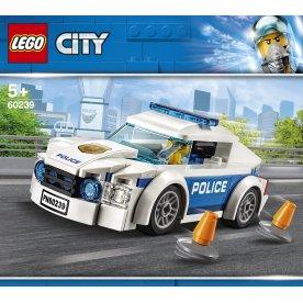LEGO City Police 60239 Politipatruljevogn. 5+