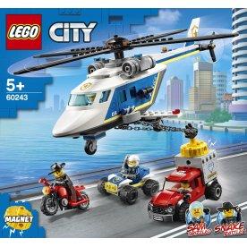 LEGO City Police 60243 Politihelikopterjagt, 5+