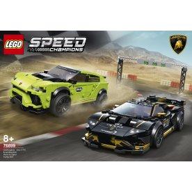 LEGO 76899 Lamborghini Urus ST-X & Huracán Super