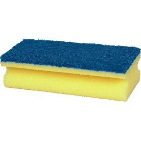 Rengøringssvamp blå sål (hård), allround rengøring