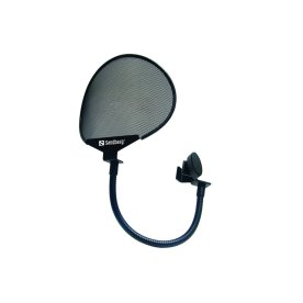 Sandberg popfilter til mikrofoner, sort