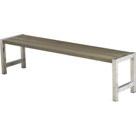 Plus Plankebænk, L 176 cm, Gråbrun