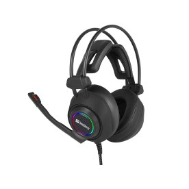 Sandberg Savage USB 7.1 headset, sort