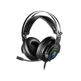 Sandberg Dizruptor USB 7.1 headset, sort