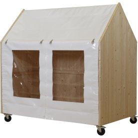 Plus Shelter på hjul, L203xD121xH198 cm