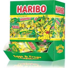 Haribo Eggs & Frogs, 90 poser á 10 g