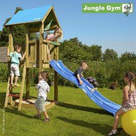 Jungle Gym Castle legetårn inkl. rutschebane