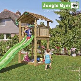 Jungle Gym Cottage legetårn inkl. rutschebane