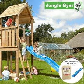 Jungle Gym Palace legetårn m. sand og rutschebane