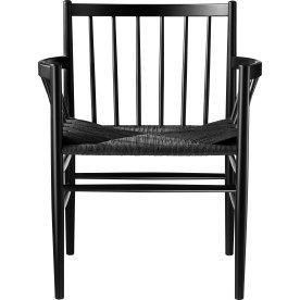 J81 Spisebordstol, Sort/Sort