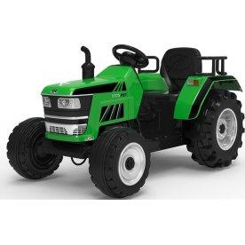 EL-drevet Azeno tratktor til børn, 12V, grøn