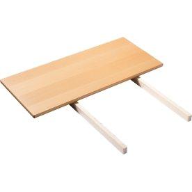 Ekstra plade til C35C Spisebord Eg/natur, 95x45 cm