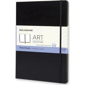 Moleskine Art Sketch Bog   A4   Sort