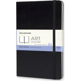 Moleskine Art Sketch Bog | L | Sort