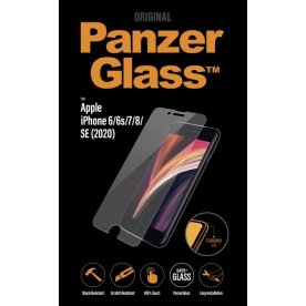 PanzerGlass iPhone SE (2020)/8/7/6, Clear