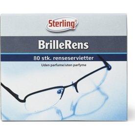 Sterling Brillerens Renseservietter, 80 stk.