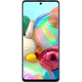 """Samsung Galaxy A71 128GB 6,7"""" smartphone, hvid"""