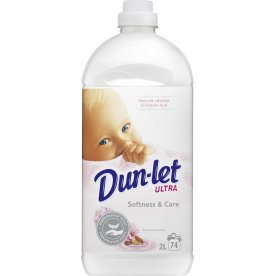 Dun-let Skyllemiddel, Softness & Care, 2 L