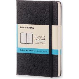 Moleskine Clas. H Notesbog   Pkt.   Dot.   Sort