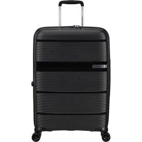 American Tourister Linex kuffert, 66 cm, sort