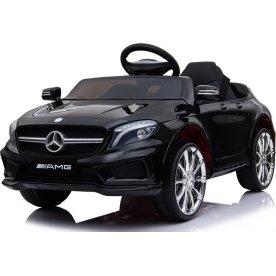 El-drevet Mercedes AMG GLA45 børnebil, 12V, sort