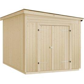 Plus Modul redskabsrum m. skråt tag, 7,5 m2