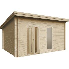 Plus Lux redskabsrum m.  skråt tag, 15 m2