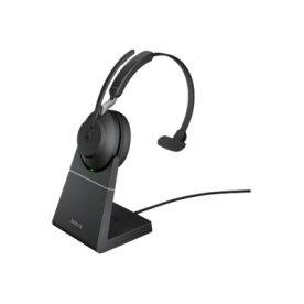 Jabra Evolve2 65 USB-C MS Mono headset m. stand