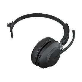 Jabra Evolve2 65 Link380a MS Mono headset, sort