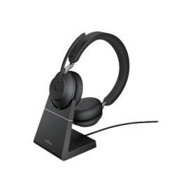 Jabra Evolve2 65 USB-C UC Stereo headset m. stand