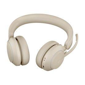 Jabra Evolve2 65 Link380c UC Stereo headset, beige