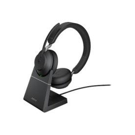 Jabra Evolve2 65 Link380c Stereo headset m. stand
