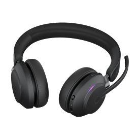 Jabra Evolve2 65 Link380c MS Stereo headset, sort