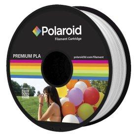 Polaroid PLA 3D Filament, 1.75mm, hvid, 1kg