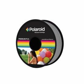Polaroid PLA 3D Filament, 1.75mm, sølv, 1kg