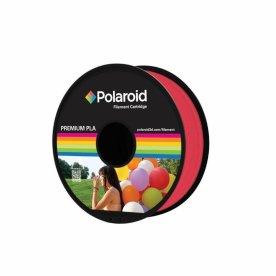 Polaroid 3D Filament, 1.75mm, transparent rød, 1kg