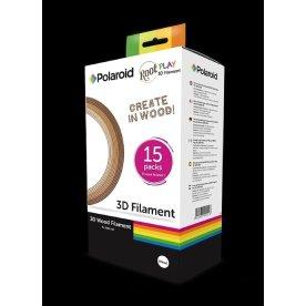 Polaroid 3D Wood Filament pakke med 15 stk.