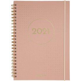 Mayland 2021 Kalender | A5 | Uge | Tekstilpræg