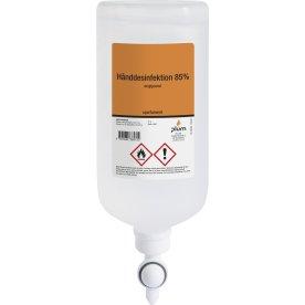 Plum Håndsprit 85% hånddesinfek standbag flaske 1L