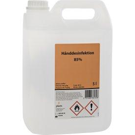 Plum Hånddesinfektion 85 % Flydende, 5 L