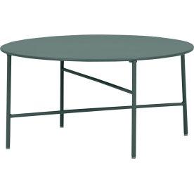 Pesetos bord, Ø70 x H35 cm, grågrøn