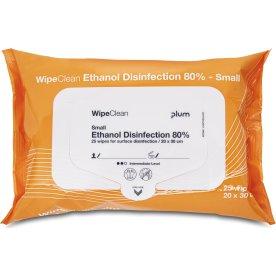Plum WipeClean 80% Desinfektion | Small | 25 stk