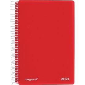 Mayland 2021 Kalender | Stor | Dag | Rød