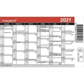 Mayland 2021 Minikalender | 2x6