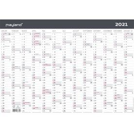 Mayland 2021 Vægkalender | Moderne | A3 | 1x13