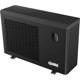 Pool Varmepumpe Inverter 9KW, sort kabinet, Wi-Fi